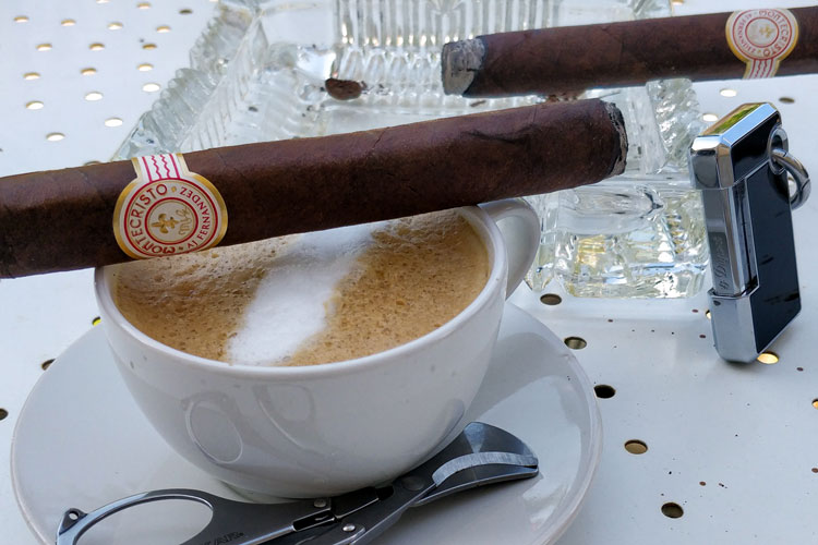 Luxury Cigars with Right Type of Coffee